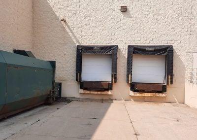 Loading docks of the Former Shopko freestanding retail building available in Austin MN
