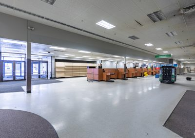 Interior of the Former Shopko freestanding retail building available in Austin MN