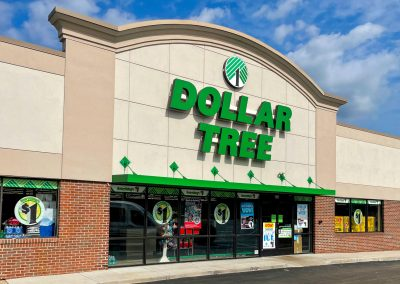 Dollar Tree, a general store in the Belle Park Plaza shopping center in Belleville MI