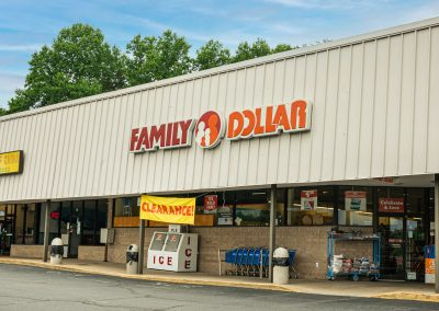 Family Dollar, a store in the Centerview Plaza shopping center in China Grove, NC