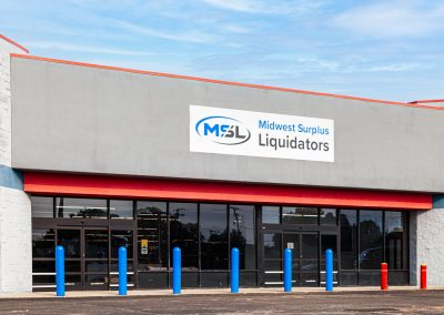 Midwest Surplus Liquidators, a discount store in Whitewater Center, a shopping center in Connersville IN
