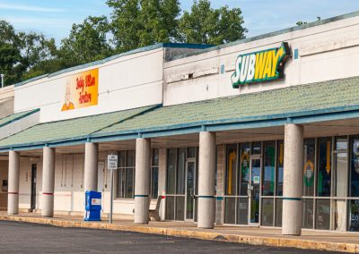 Subway, a sandwich restaurant in Whitewater Center, a shopping center in Connersville IN